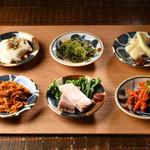 ondo - 沖縄豆皿盛り合わせ6種
