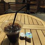 ライフシーズ 赤れんがcafe - 有機栽培珈琲 ブレンド アイス 297円