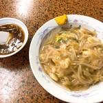 中華丸長 - かた焼きそば(680)※スープ付き