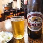 中華丸長 - 中瓶ビール(530)※おつまみ付き