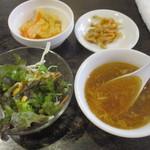 台湾料理故宮 - ランチセット