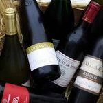 リストランティーノ ルベロ - イタリアを中心にフランスワインもお楽しみ頂けます。