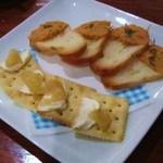 欧風バル バーデンバーデン - リンゴとマスカルポーネのカナッペ