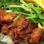 小麦LAND - 豚バラ丼の豚肉