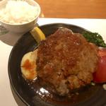 Youshokunomisemonami - ハンバーグと帆立フライ