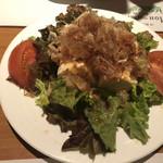 Youshokunomisemonami - サービスの豆腐サラダ