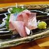 幸魚 - 料理写真:美々アジ刺身