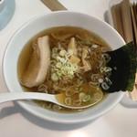 佐野サービスエリア 上り レストラン - 佐野ラーメン 750円