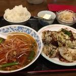 京華亭 - 杏仁豆腐うまい!