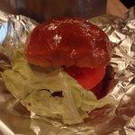 ステーキハウスひのき - 熊野牛ハンバーガー。普段はテイクアウト専門です。