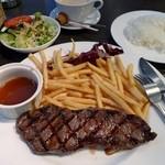 アメリカンダイナー・バー&グリル - Diner'sステーキランチ