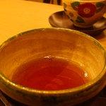 初代 富近 - お茶 おっきなお茶碗で・・