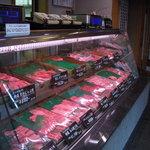 近江牛専門店 れすとらん 松喜屋 - 一階の直売店