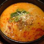 西安餃子 小桃の里 - 白胡麻担々麺