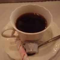 ステーキハウスひのき-食後のコーヒー。ダートコーヒーだった様な気がします。