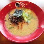 ラの壱 - とんこつもと味(麺ばりかた)