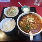 107401356 - 四川ゴマ辛味タンタン麺セット