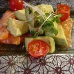 お肉と私の酒場 ハセガワ - カルパッチョ