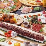 肉と魚と鍋 わがまま屋 - その他写真:いま話題のロングユッケ寿司コース