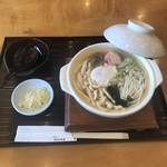 うどん茶屋 海津屋 - 鍋焼きうどん