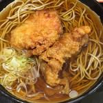 立ちそば処 杜 - 杜の都でヽ( ´3`)ノ鶏天蕎麦L