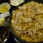 北の味紀行と地酒 北海道 - 日高豚鉄板焼き定食 税込780円