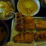北の味紀行と地酒 北海道 - 焼きハラス定食 税込600円