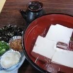 10741242 - 湯豆腐セット