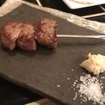 son-ju-cue - 国産牛 サーロインの串焼き