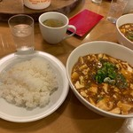 南海飯店 - 日替定食(麻婆豆腐)①