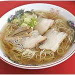 中華そば 竹千代 - 料理写真:中華そば 700円 ふわりと香る椎茸。