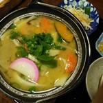 花水木 - だんご汁(単品)750円