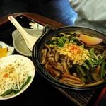 花水木 - 山菜そば(単品)750円