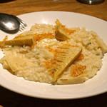 ともすけ - たけのことパルミジャーノチーズのリゾット