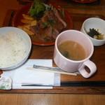 107415275 - サーロインステーキ定食