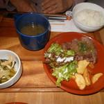 107415277 - ヒレステーキ定食