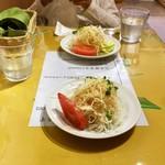 スリランカふくおか - 【最初に来ます】セットのサラダ