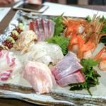 魚楽唐唐 - 料理写真:☆刺身の盛合せ