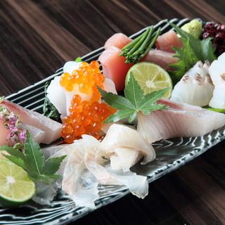 徳島産天然の海鮮をご堪能ください