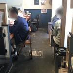 おきばり屋 - 店内カウンター席