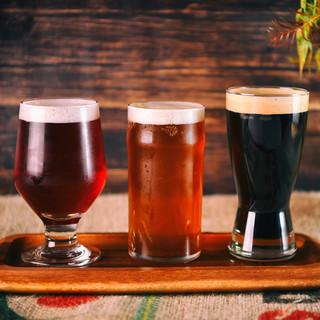 種類豊富なビールを楽しめる!サイズも選べて色々楽しめます♪