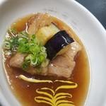 金の穂銀の水 - 鹿児島県産茶美豚(ちゃーみーとん)の角煮 620円