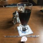 ウッドストック - 食後のアイスコーヒー
