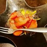 OGGI DAL-MATTO - イチゴの冷製パスタ
