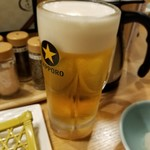 大衆天ぷら まねき屋 - ビール