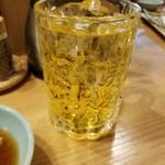 大衆天ぷら まねき屋 - 緑茶ハイ