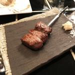 son-ju-cue - 国産牛 サーロインの串焼き(390円)