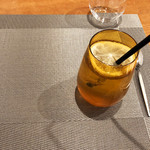 Restaurant Cinq - ドリンク写真:自家製オレンジスカッシュ550円(2018.12月終盤)