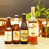 Asian Dining テラコヤ - ドリンク写真:タイのビール・ウィスキーや、ワイン、泡盛、カクテルなど、豊富なドリンクメニューを用意しています。