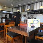 麺処 田ぶし - 店内